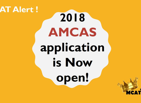 2018 MCAS is OPEN Now
