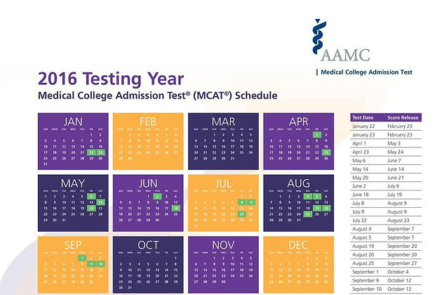 2016 MCAT Test Dates Announced — Select Yours Now