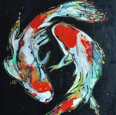 Les poissons, la danse