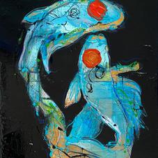 La fluidité des eaux, les poissons