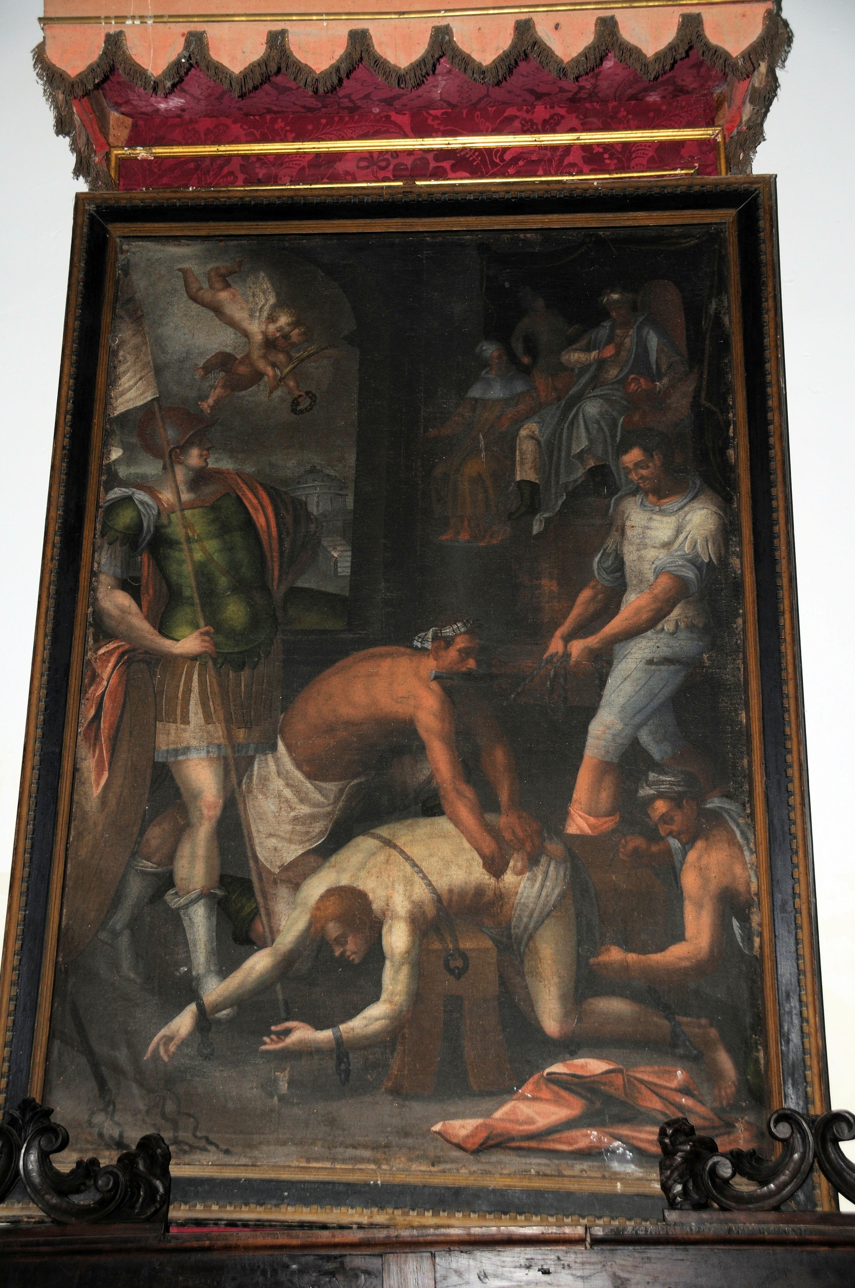 Martirio de San Zoilo en