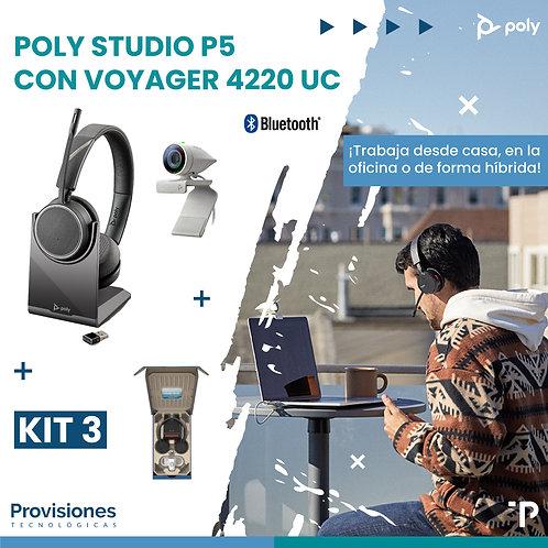 Poly Studio P5 con Voyager 4220 UC