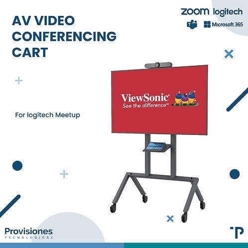 AV Video Conferencing Cart