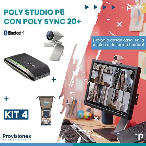 Poly Studio P5 con Poly Sync 20+