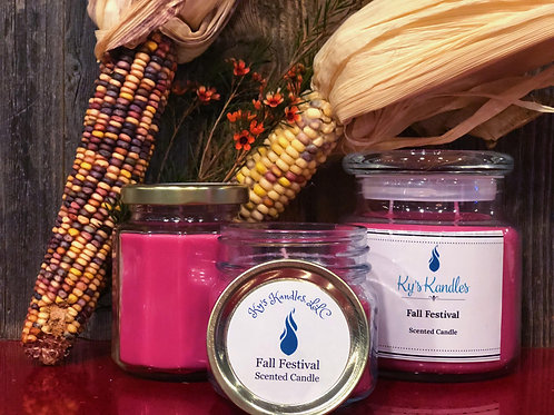 Fall Festival Scented Candle