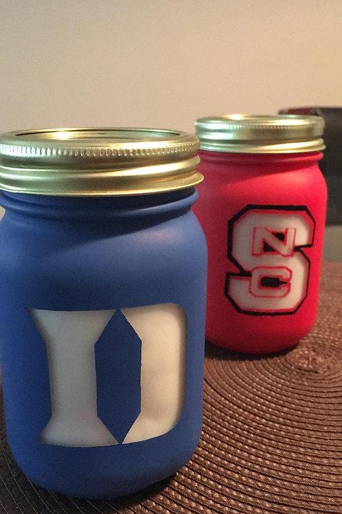 Duke/NC State Candles