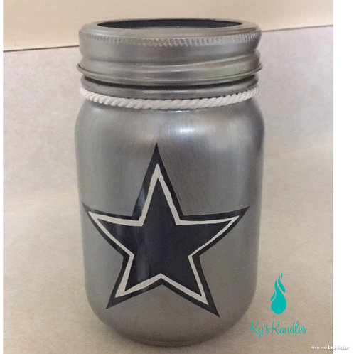 Dallas Cowboys Candle