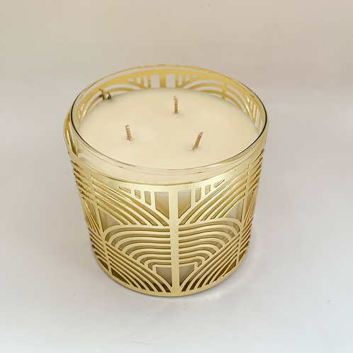 3 Wick Candle Sleeves