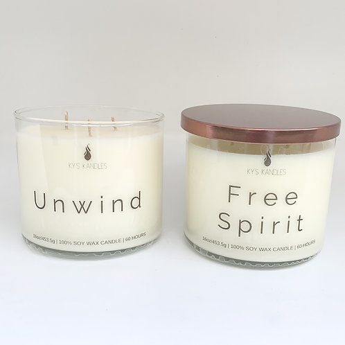 3 Wick 16oz Candle