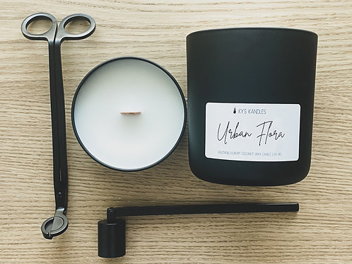 Matte Black Candle Care