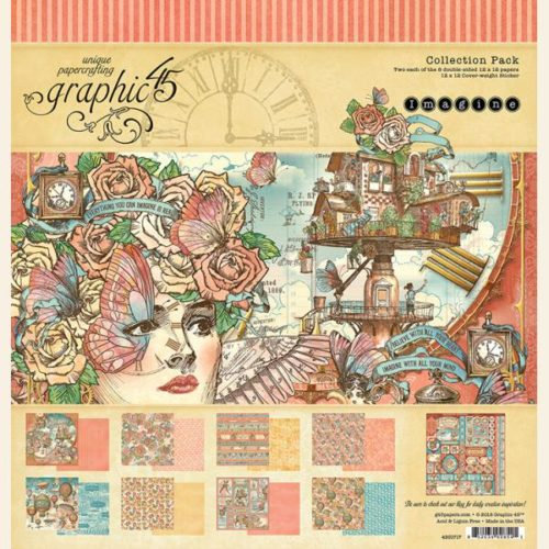 Kit Scrap GRAPHIC45 Imagine