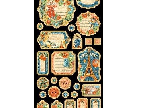 Etiquetas GRAPHIC 45 Fair Collection