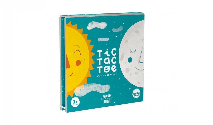 Tic Tac Toe Sun & Moon game LONDJI