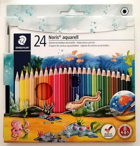 Caixa de Lápis de cor Aguarela