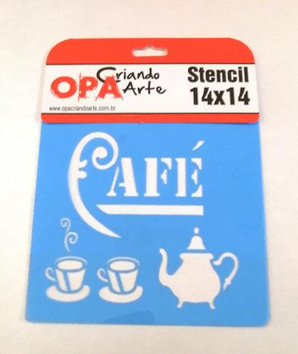 Stencil OPA 14x14