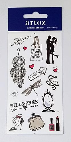 Notebook Stickers ARTOZ