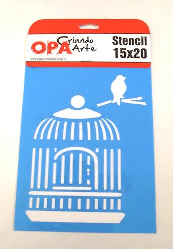 Stencil OPA 15x20