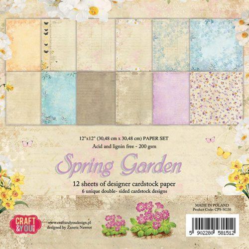 Kit para Scrapbooking Spring Garden