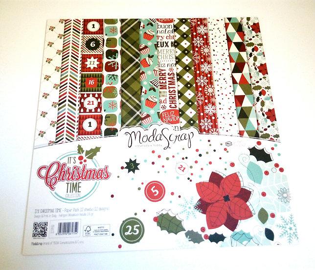 Conjunto Scrap It's Christmas Time
