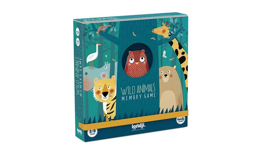 Wild Animals Memory game LONDJI