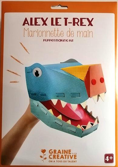 Alex Le T-Rex Marionete de mão