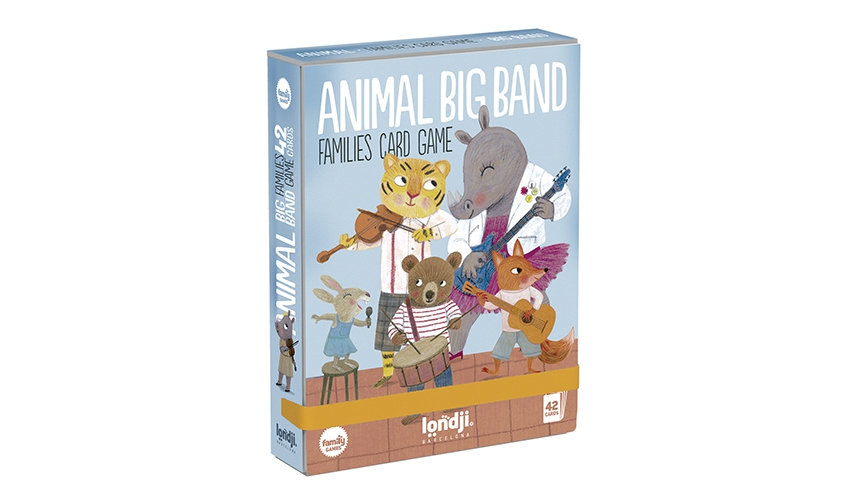 Animal Big Band Family Cards LONDJI