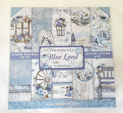 Kit para Scrapbooking Blue Land