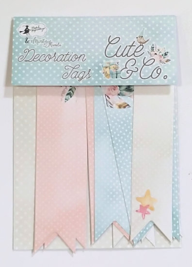 Tags decorativas PIATEK Cute & Co