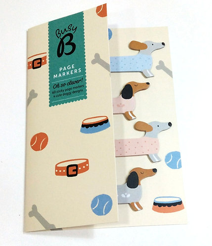 Page Markers Dog