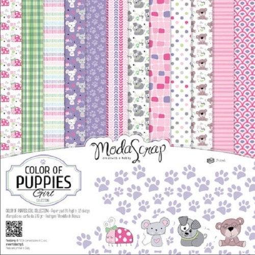 Kit Scrap Color of Puppies MODA SCRAP