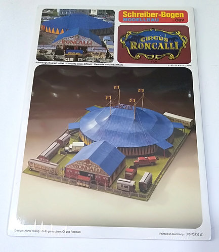 Circus Roncalli SCHREIBER BOGGEN