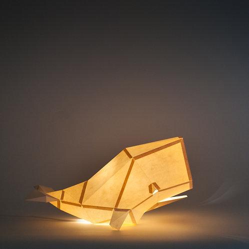 Papercraft Kit Cachalote Sandy beige