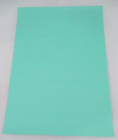 Papel Glitter autocolante neon grun
