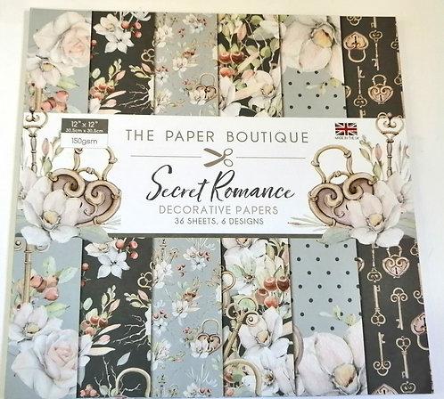 Bloco Secret Romance PAPER BOUTIQUE