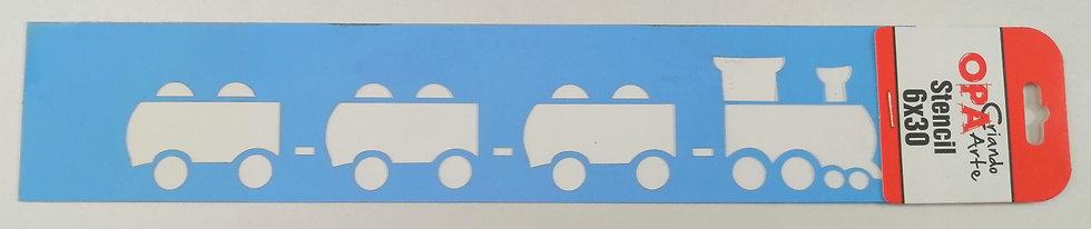 Stencil OPA 6x30