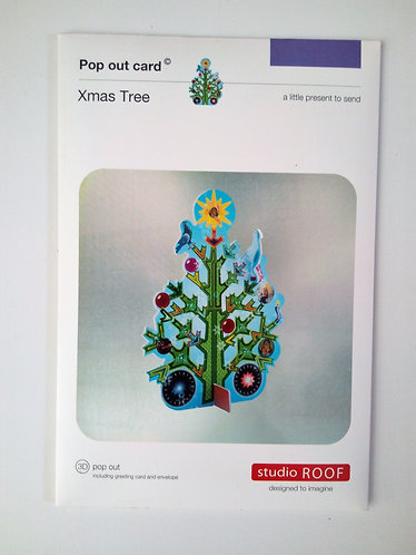 Pop Out Card Xmas Tree