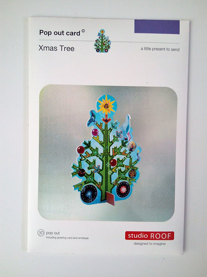 Pop Out Card Xmas Tree