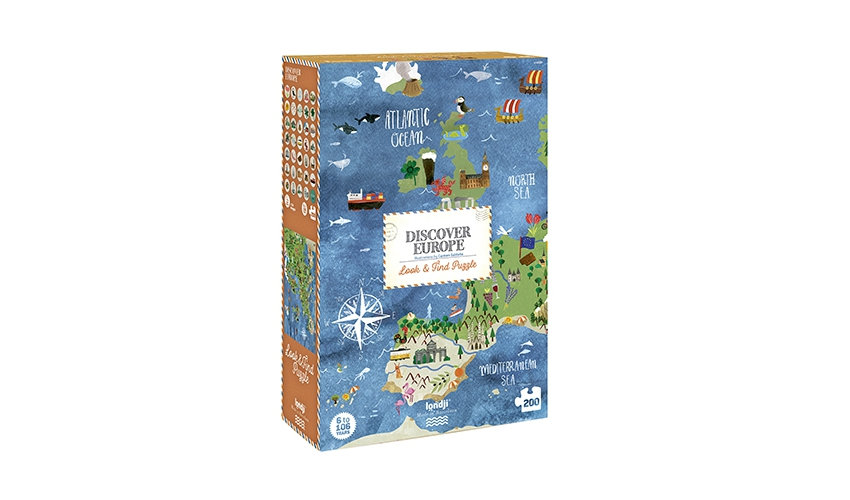 Discover Europe Puzzle LONDJI