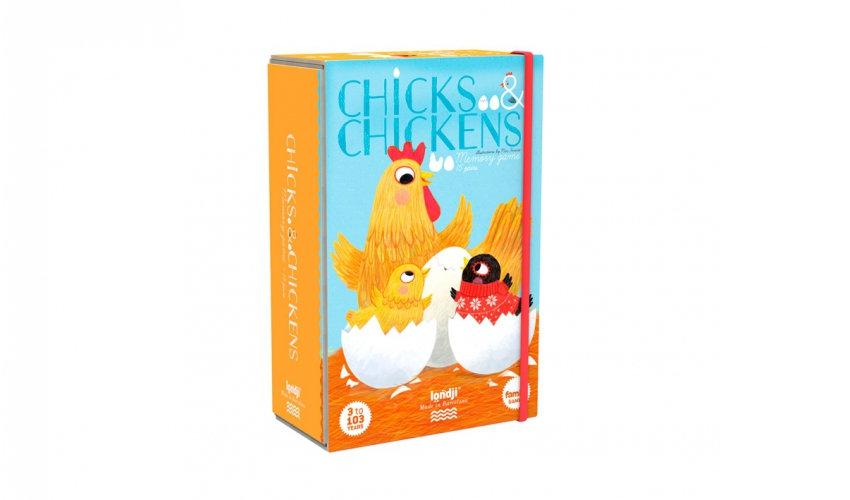 Chicks & Chikens Memory Game LONDJI