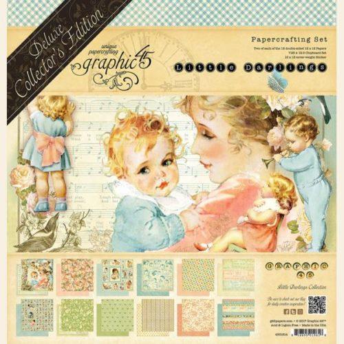 Kit Scrap GRAPHIC45 Little Darlings
