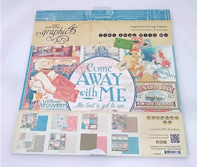 Bloco Scrapbooking GRAPHIC45 Come Away With Me
