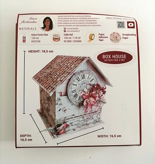 Kit de Cartonagem Box House