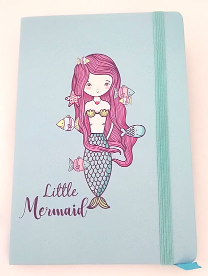 Notebook Litthe Mermaid A5