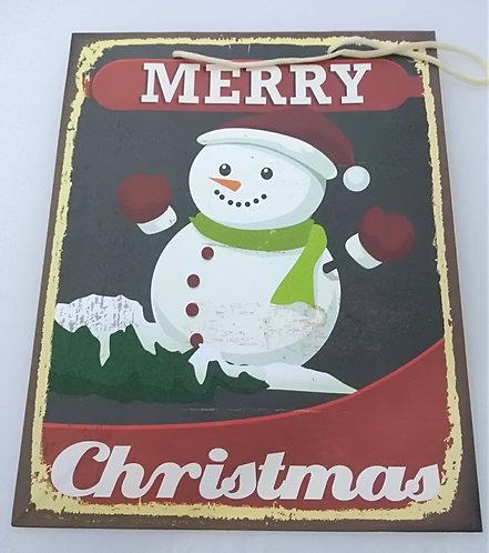 Saco de papel Boneco de neve
