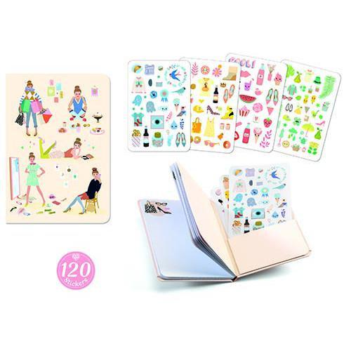 Caderno e Stickers Tinou by Djeco