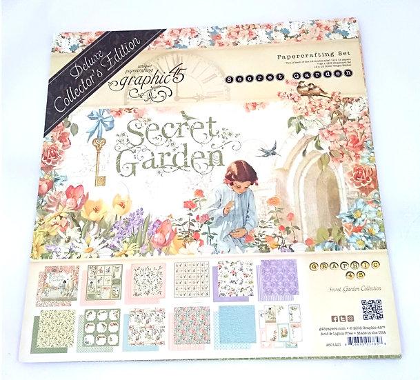 Kit Scrap GRAPHIC45 Secret Garden