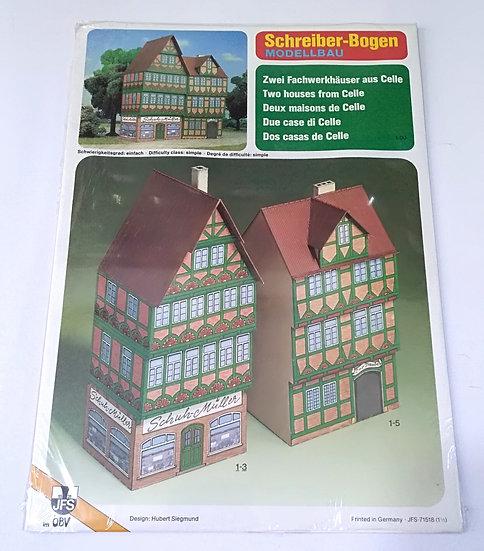 ZweiFachwerkhauser aus Celle  SCHREIBER BOGGEN