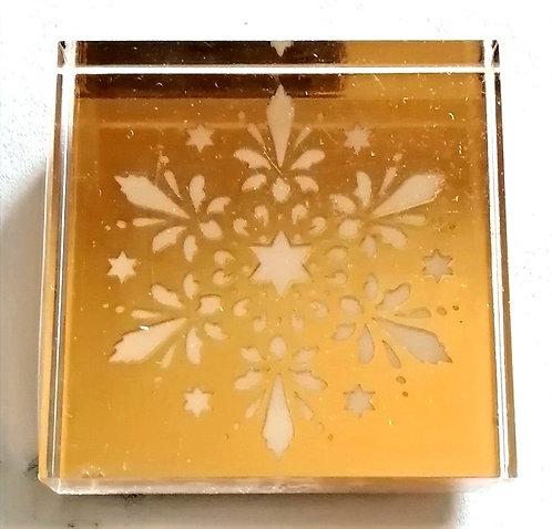 Carimbo ARTOZ Cristal de Neve