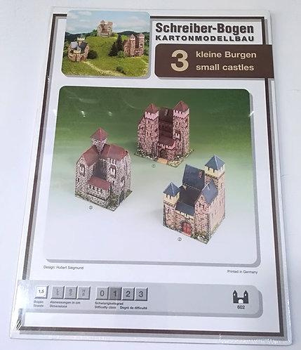 Kleine Burgen SCHREIBER BOGGEN