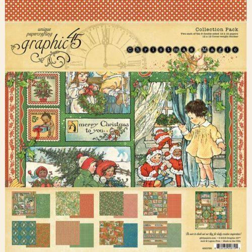 Kit Scrap GRAPHIC45 Christmas Magic